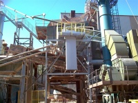 New asphalt recycling system for major aggregate producer provides a challenge for BGE.